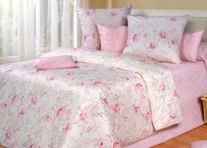 Постельное белье перкаль Ameli Pink Cotton Dreams Valencia
