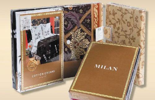 Образец упаковки постельное белье COTTON DREAMS Милан (Milan)