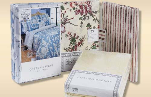 Образец упаковки комплектов постельного белья из перкаль серии Валенсия (Valensia)