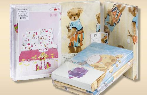 Образец упаковки детского постельного белья COTTON DREAMS серии Baby