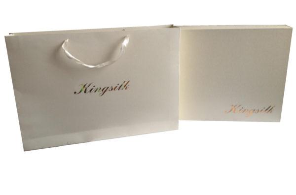 Образец упаковки постельное белье Kingsilk (Кингсилк)