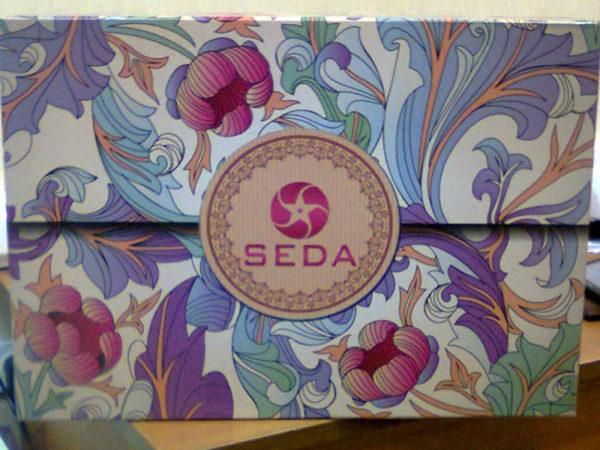 Образец упаковки комплектов постельного белья коллекции SEDA сатин с печатным рисунком серии TX