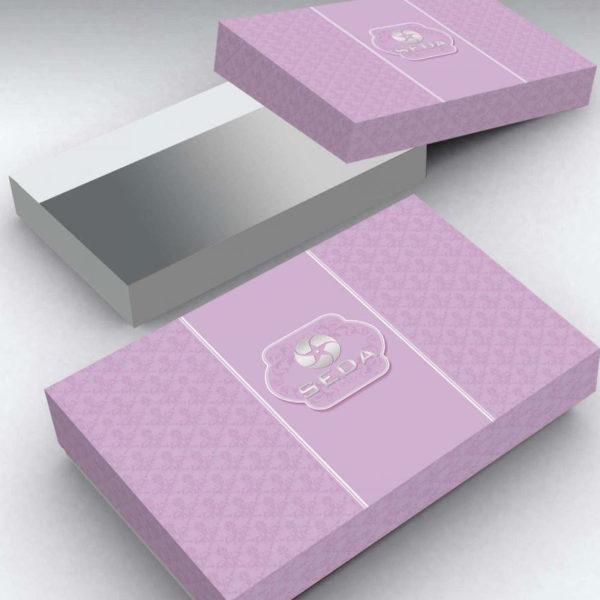 Образец упаковки постельного бель 3D сатин PX