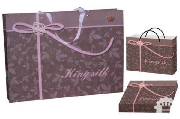 Образец упаковки постельного белья сатин с вышивкой серии C