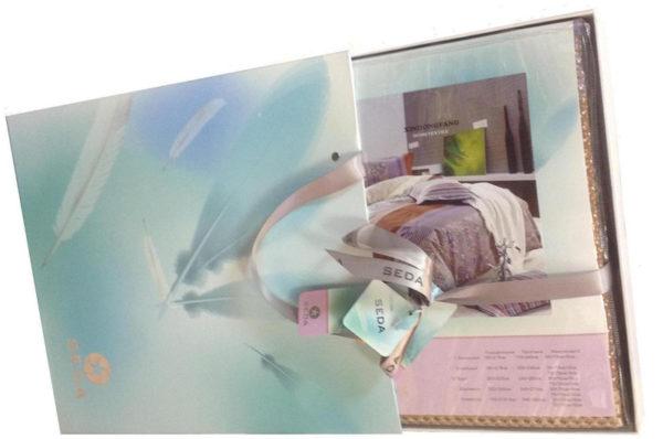 Образец упаковки постельное белье сатин VX