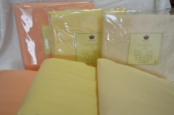 Простыни на резинке сатин 200/200 тм Kingsilk (Кингсилк)