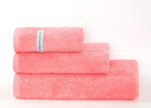 Полотенце махровое Bourgeois Nouveau Pink персиковый