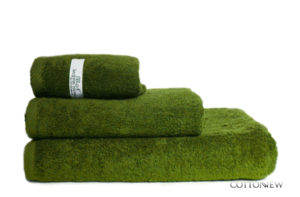 Полотенце махровое Bourgeois Nouveau оливковый Cotton Dreams