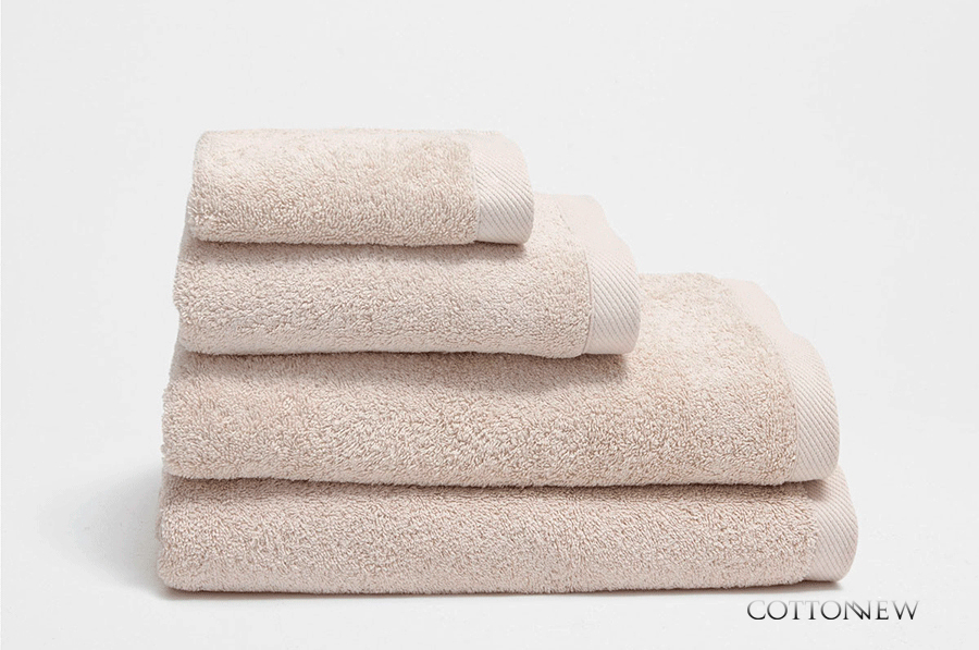 Полотенце махровое Bourgeois Nouveau бежевый Cotton Dreams