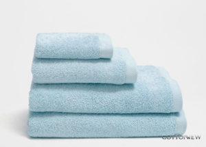 Полотенце махровое Bourgeois Nouveau васильковый Cotton Dreams