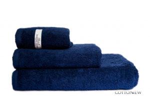 Полотенце махровое Bourgeois Nouveau темно-синий Cotton Dreams