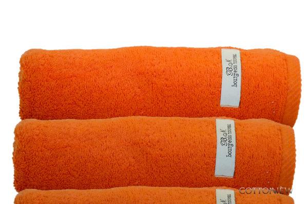 Полотенце махровое Bourgeois Nouveau терракотовый Cotton Dreams