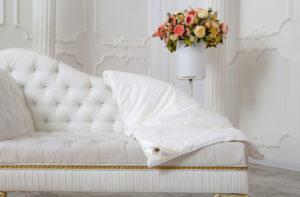 Шелковое одеяло 150/210 всесезонное Элит (