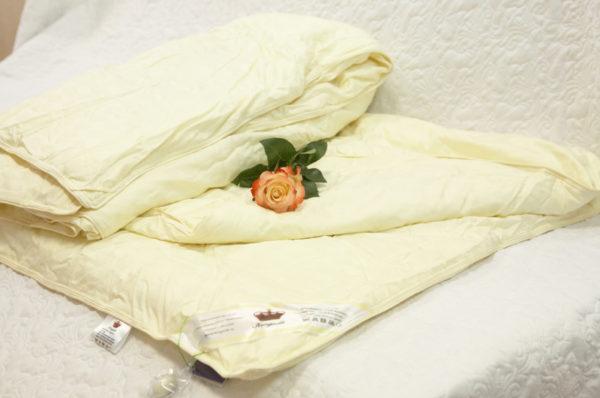 """Шелковое одеяло 150/210 всесезонное Элит (""""Elisabette"""") KingSilk"""