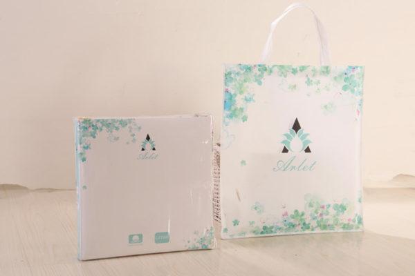 Образец упаковки постельного белья серии Arlet от Kingsilk (КингСилк) в интернет-магазине CottonNew.ru
