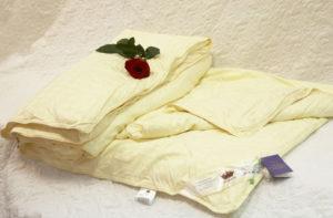 """Шелковое одеяло 220/240 всесезонное Элит (""""Elisabette"""") KingSilk"""