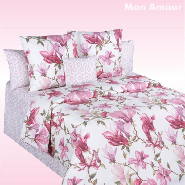 Постельное белье перкаль Cotton Dreams Valencia Mon Amour