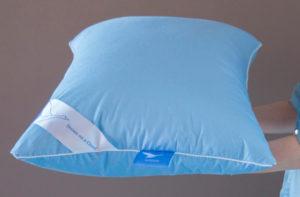 Пуховая подушка WHITE DOWN (белый гусиный пух 100%)