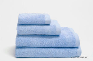 Полотенце махровое (хлопок 100%) Cotton Dreams Blue Bourgeois Nouveau