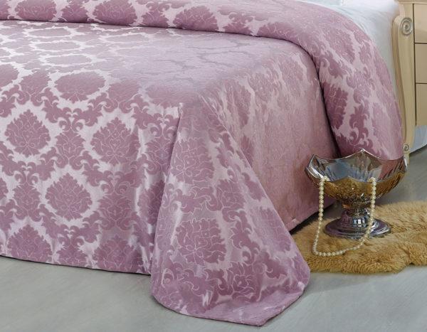 Покрывало на кровать YG-9 KINGSILK однотонное стеганое - CottonNew.ru