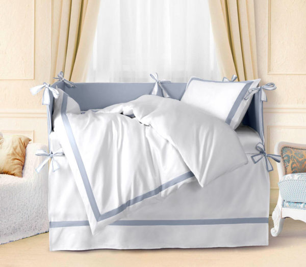 Детское постельное белье Sharmes for MIA (Azzurro Classico)