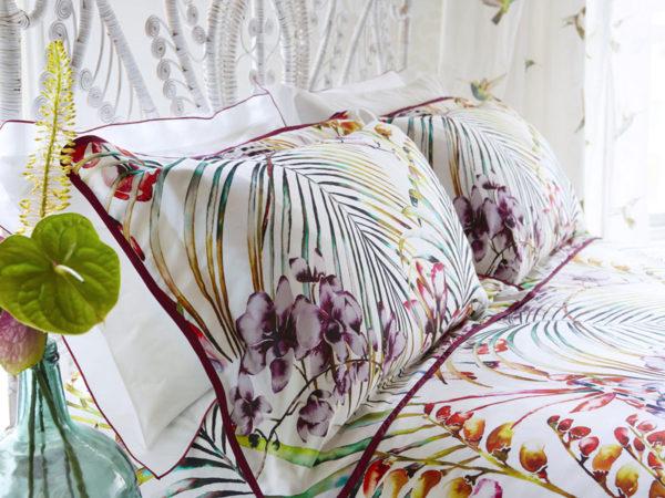 Постельное белье сатин Harlequin Paradise Flamingo купить в CottonNew.ru