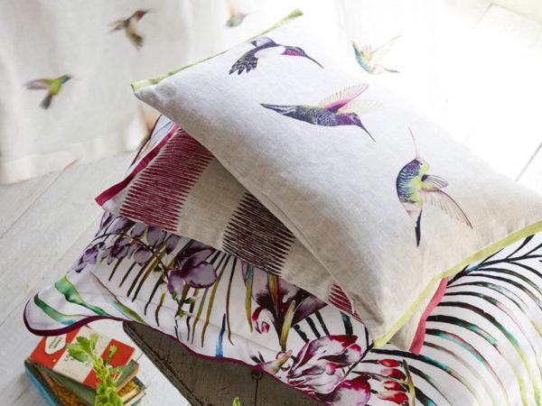 Декоративная наволочка Harlequin 30*40 Paradise Flamingo