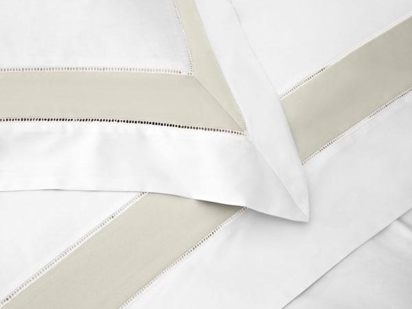 Постельное белье сатин Sharmes Prime (Серо-бежевый) SOLID