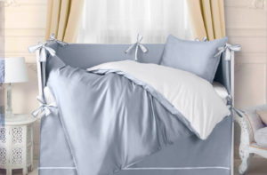 Детское постельное белье Sharmes for MIA (Azzurro Romantico)