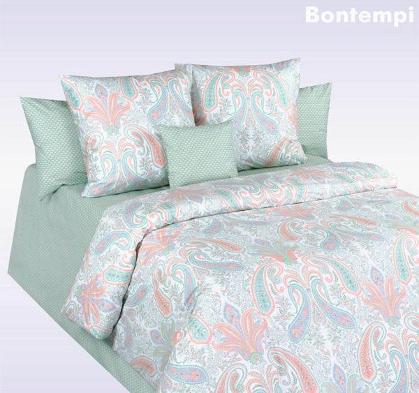 Постельное белье перкаль Cotton Dreams Bontempi (Бонтемпи) Valencia