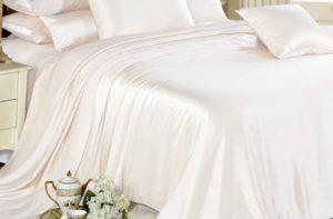 Шелковое постельное белье Luxe Dream White (Белый) шелк 100%