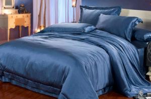 Шелковое постельное белье Luxe Dream Elite Ocean (Элит Океан)