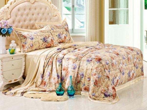 Шелковое постельное белье Luxe Dream Монпасье шелк 100%