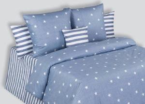 Постельное белье поплин Stars (Звезда) Cotton Dreams Audrey Hepbern