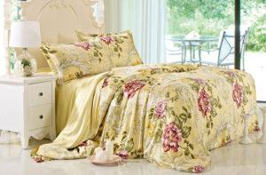 Шелковое постельное белье Luxe Dream Azalea (Азалия) шелк 100%