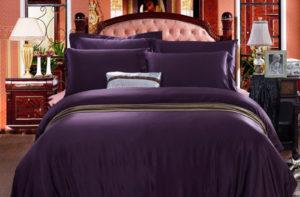Шелковое постельное белье Luxe Dream Пурпурный шелк 100%