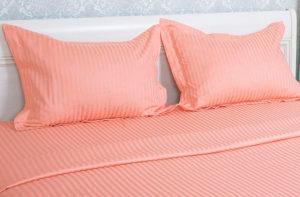 Постельное белье сатин Этель ET-201 (персиковый) купить в Москве!