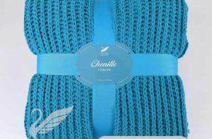 Плед Goldtex Chenille (Ультрамарин) купить из микроволокна CottonNew.ru