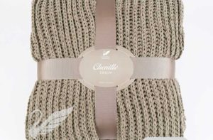 Плед Goldtex Chenille (Кофе) купить из микроволокна CottonNew.ru