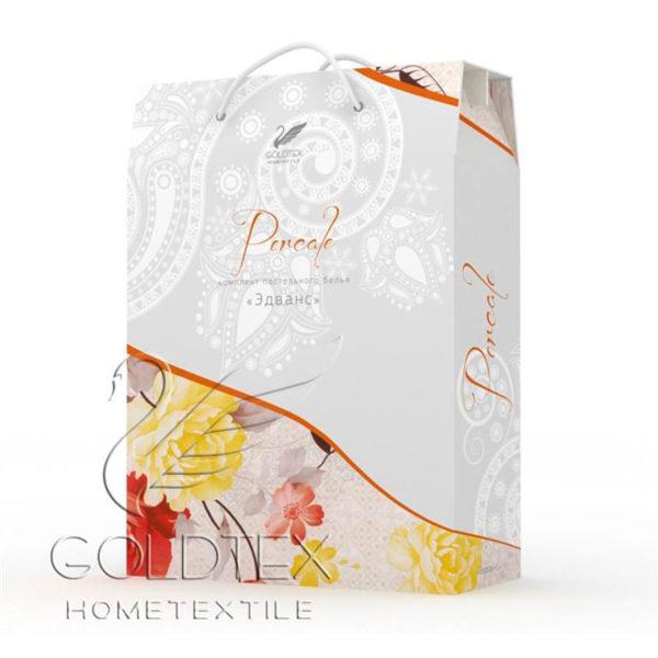 Образец упаковки постельное белье перкаль Goldtex