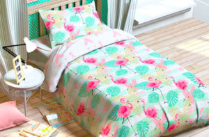 Детское постельное белье Розовые Сны Этель (Etel) хлопок 100%