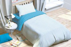 Детское постельное белье Голубая мечта Этель (Etel) хлопок 100%