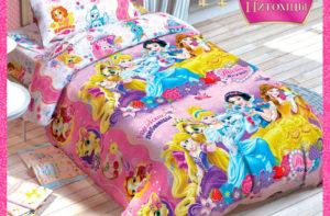 Детское постельное белье Этель Disney Принцессы хлопок 100%