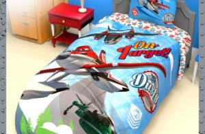 Детское постельное белье Этель Disney Самолеты хлопок 100%