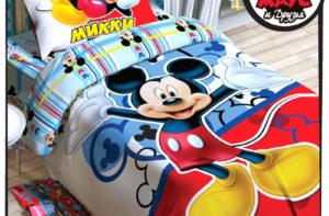 Детское постельное белье Этель Disney Микки Маус хлопок 100%