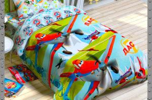 Детское постельное белье Этель Disney Дасти Самолеты хлопок 100%