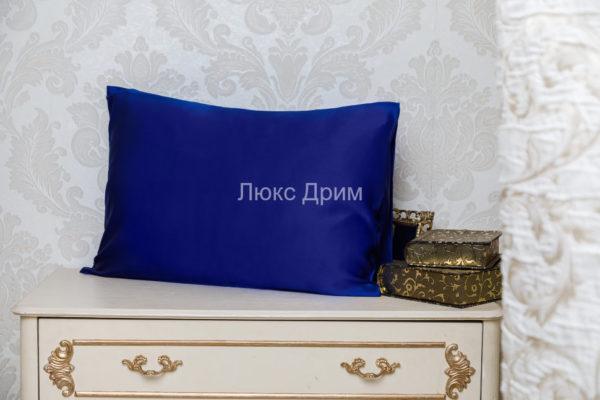 Шелковая наволочка Luxe Dream Синий 2 шт. шелк 100%