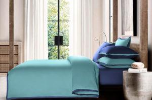 Постельное белье сатин Sharmes Coctail (Голубая бирюза)