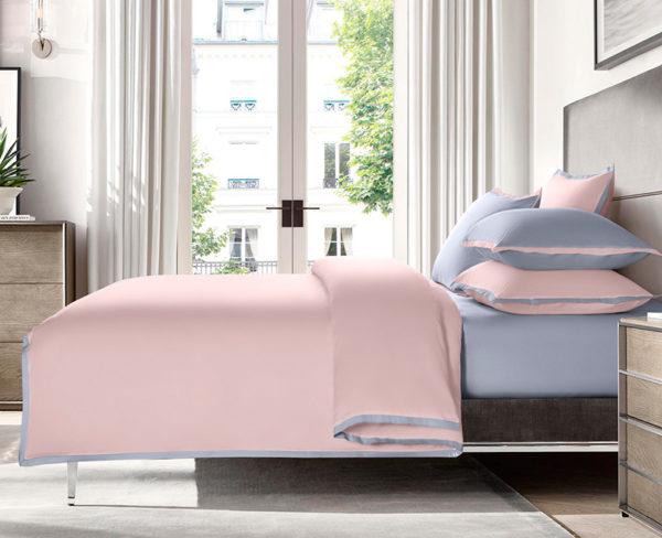 Постельное белье сатин Sharmes Coctail (Нежно-розовый)