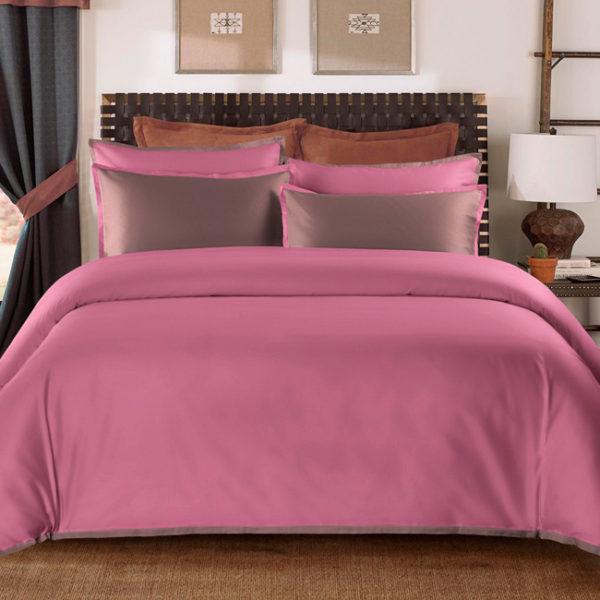 Постельное белье сатин Sharmes Coctail (Темно-розовый) Onsilk